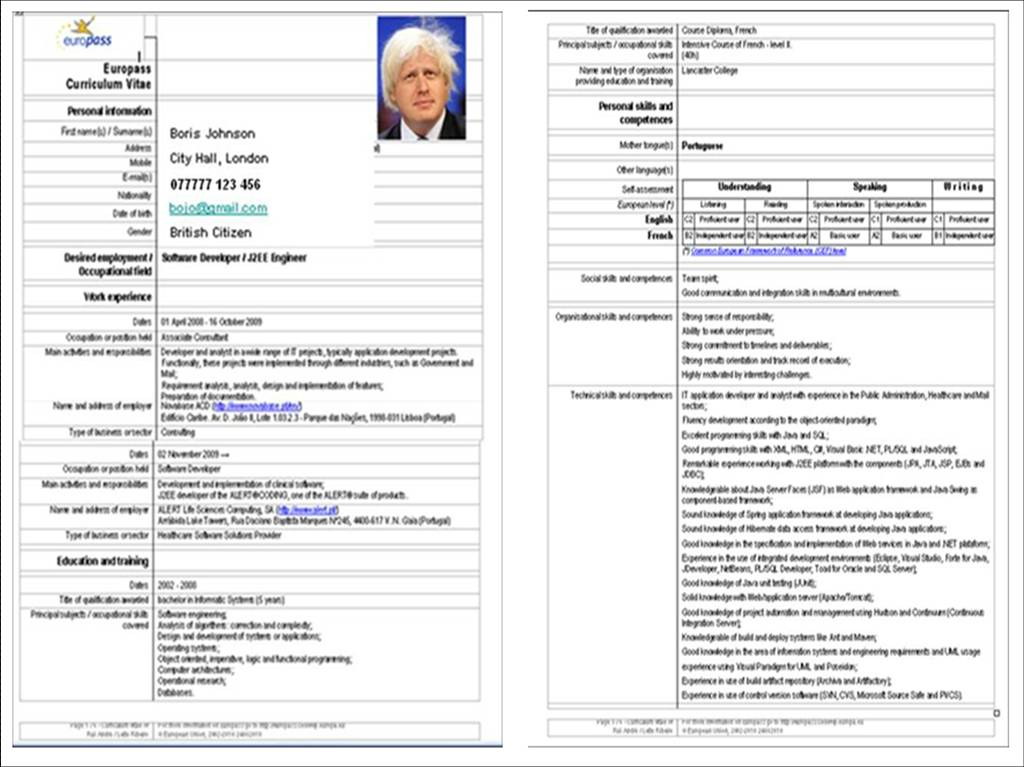 europass cv template english word - Gecce.tackletarts.co